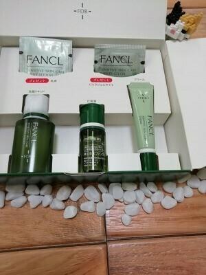 ファンケル「乾燥敏感肌ケアトライアルセット」レビュー|保湿出来る化粧液がおすすめ