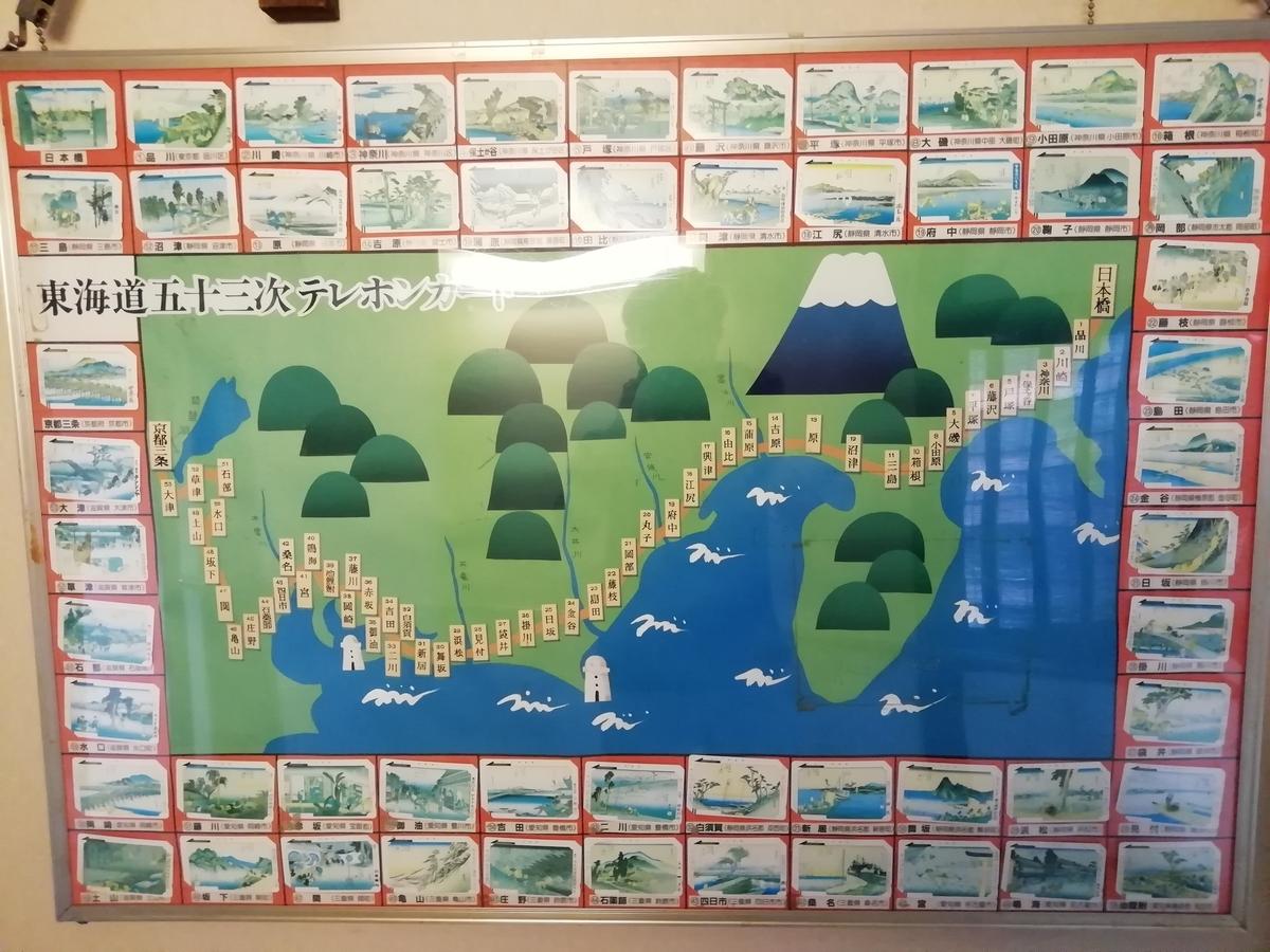 東海道五十三次:テレホンカード