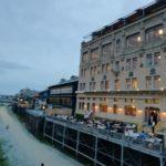 """川床で京都のコース料理を楽しめる。京の居酒屋""""ぽんと"""""""