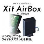 ワイヤレステレビチューナーXIT-AIR100Wでスマホでテレビ視聴!