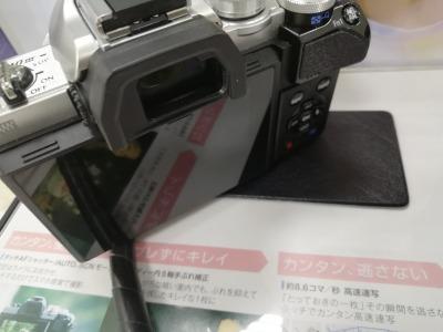 オリンパスOM-D E-M10 Markiii:ボディの画像