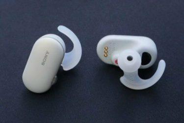 ソニーWF-SP900の特徴レビュー|音楽プレイヤー機能搭載、ペアリング可能な完全ワイヤレスイヤホン
